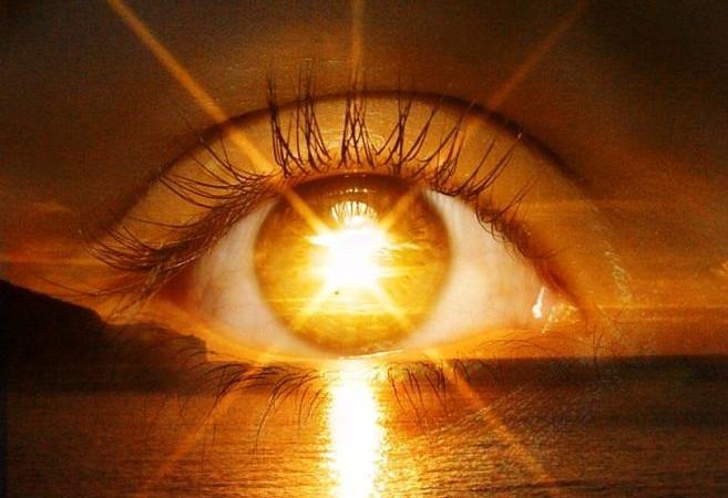 occhio sole