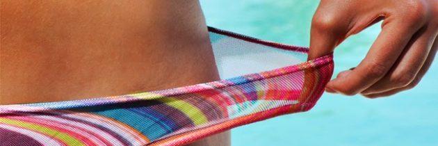 Abbronzatura integrale col bikini al transol