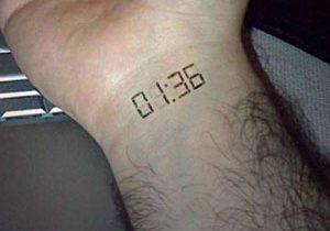 Tatuaggi a LED. La pelle diventerà una TV?