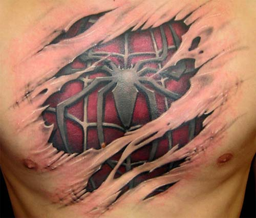 spiderman-tattoo