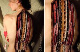 Usiamo il Body Painting per insegnare l'anatomia