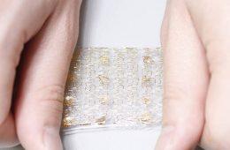 La pelle elettronica al silicio