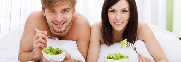Sesso: i vegetariani lo fanno meglio
